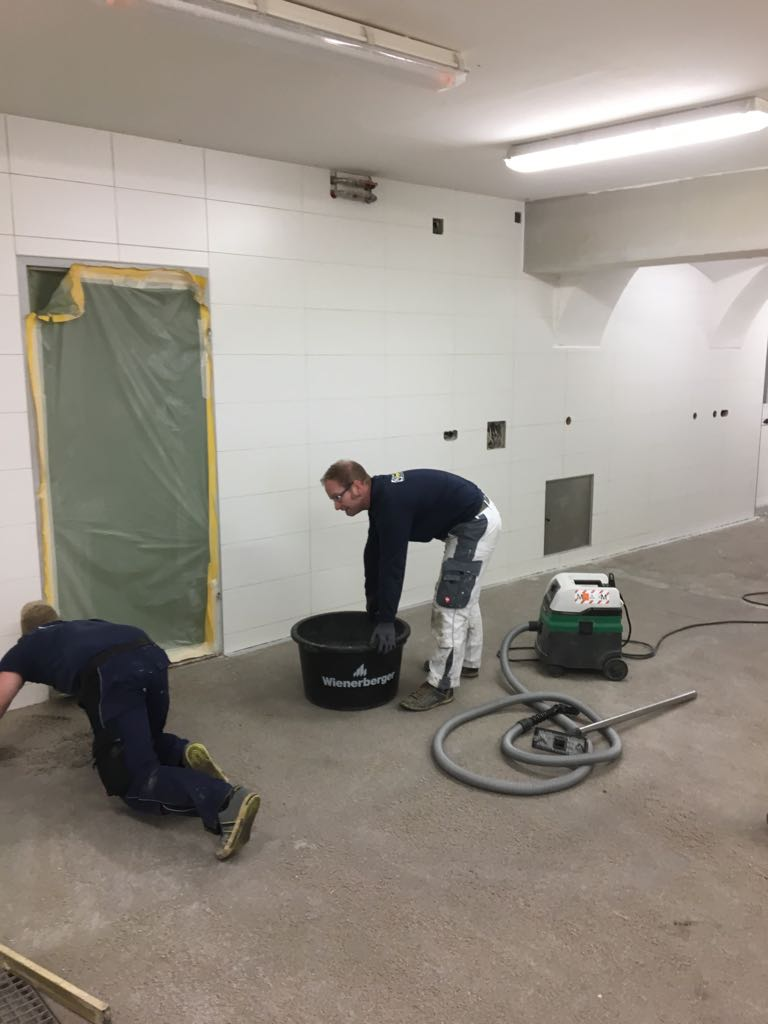 Vorbereitung des Bodens auf die Beschichtung