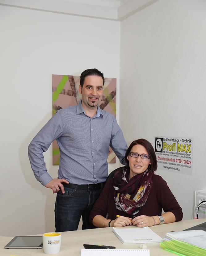 Angelika und Markus Leonhard Geschäftsführung bei Profi Max